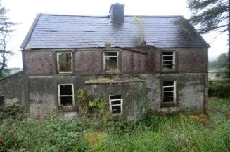 Padraig's house today at Glountane Cross