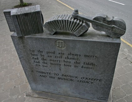 O'Keeffe monument in Castleisland