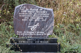 Memorial stone in Ballydesmond