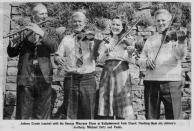 Mick Johnny and Paddy Cronin w Maureen Glynn