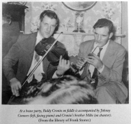 Paddy and brother Mick