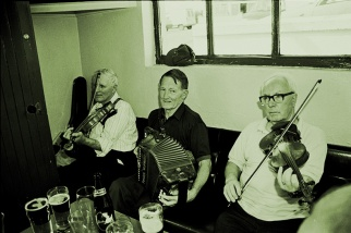 Paddy Cronin, Johnny O'Leary, and Maurice O'Keeffe