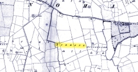 Fiddane as it appeared on older maps of the area